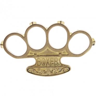 Poing Américain Boxer Laiton