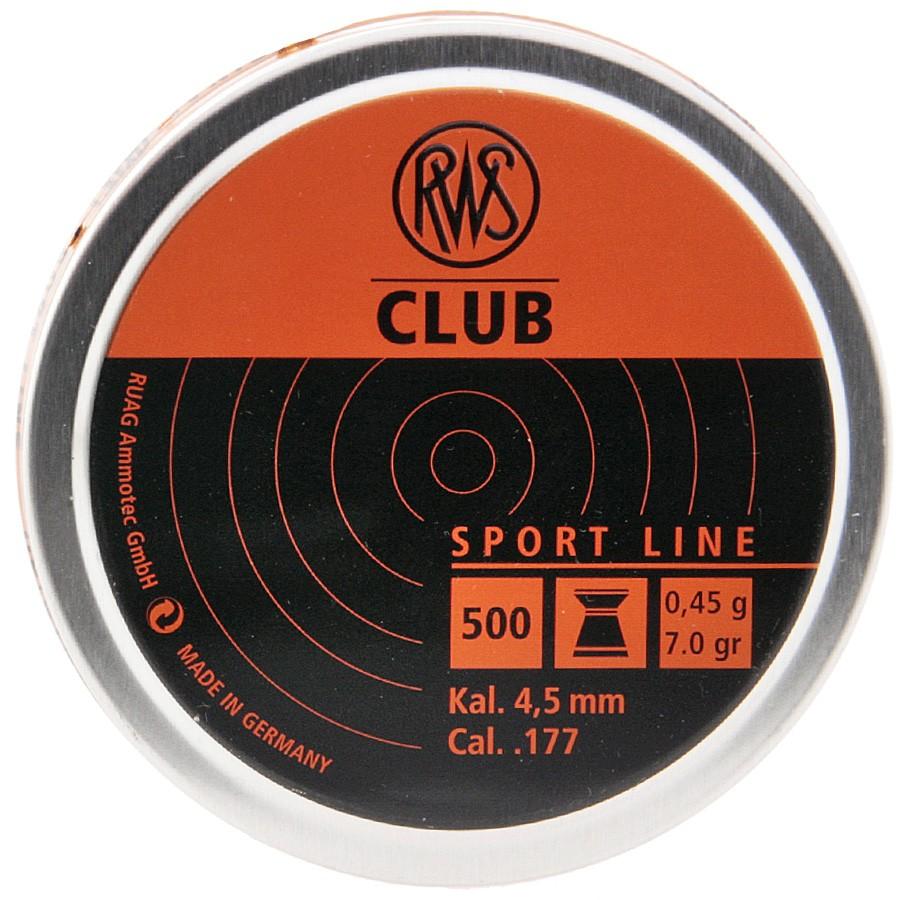 Plomb Club 4.5 / 0,456g Boite de 500 PCS