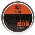 Plomb 4.5 Club / 0,45g Boite de 500 PCS