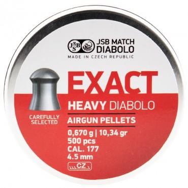 Plomb 4.5 Exact Heavy / 0.67g Boite de 500 pcs