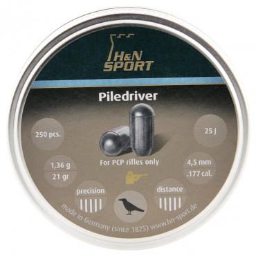 Plomb 4.5 Piledriver / 1.36g Boite de 250 pcs