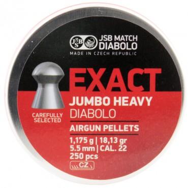 PLomb 5.5 Exact Jumbo Heavy / 1.175g Boite de 250 pcs