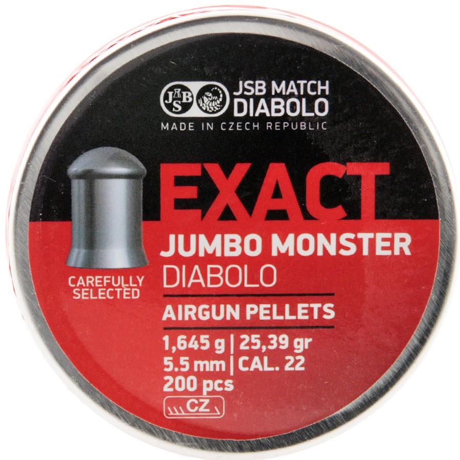 Plomb 5.5 Exact Jumbo Monster / 1.645g Boite de 200 pcs