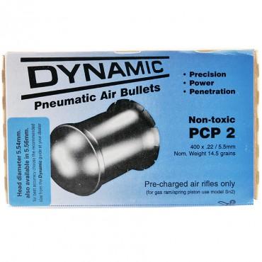 Plomb 5.5 PCP 2 / 0.94g Boite de 400 pcs - Dynamic