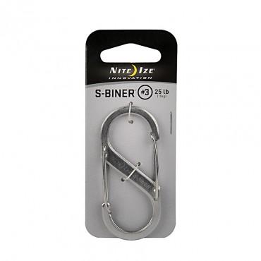 S-Biner N°3 Stainless Steel
