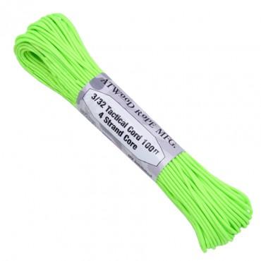 Corde Tactical 275 Vert Neon (30.48m)