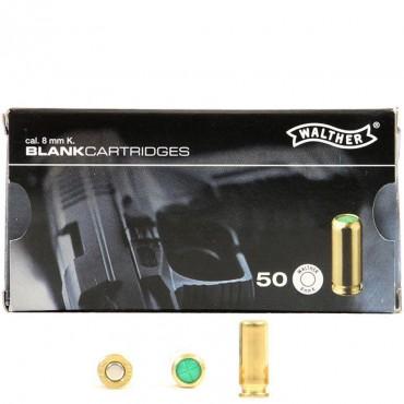 Munition à blanc 8mm PAK Boite de 50