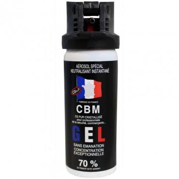 Bombe de Défense CBM 50 ml GEL CS