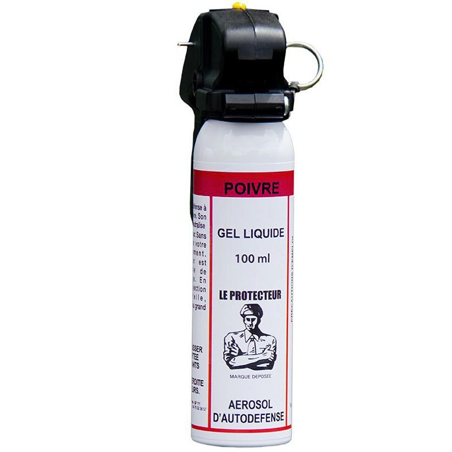 Bombe de Défense 100 ml Gel Poivre