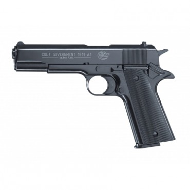 Colt Government 1911 A1 Black - 9MM PAK - Umarex
