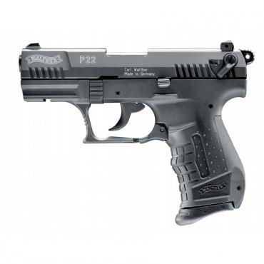 Walther P22 BLACK - Pistolet d'Alarme - Cal. 9mm PAK - Umarex