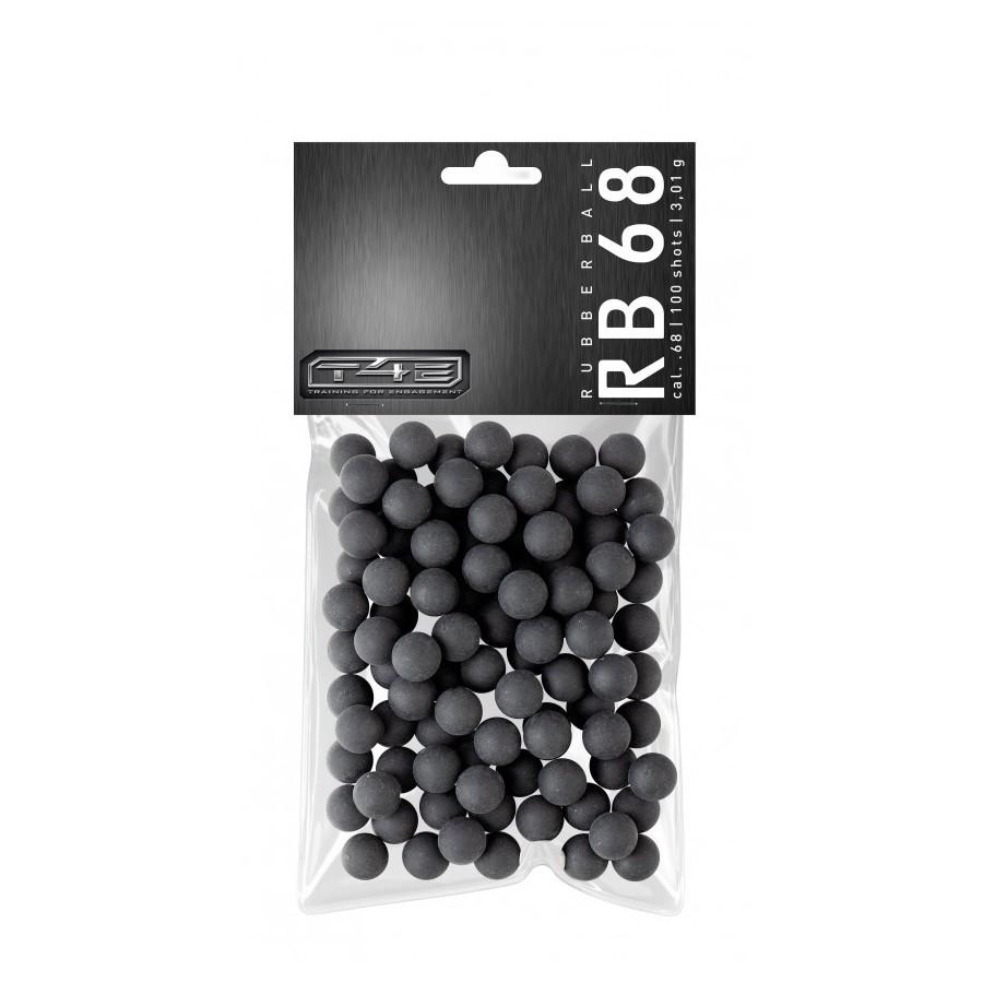 Munitions caoutchouc/acier cal.50 pour HDR/HDP Umarex