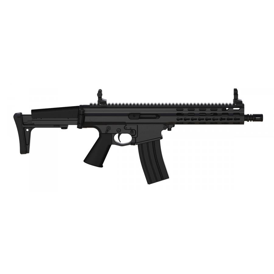 Robinson Armament XCR-L Standard, canon de 9,5'', Noir