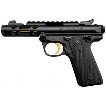 Ruger Mark IV 22/45 Lite Noir / Gold