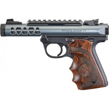 Ruger Mark IV 22/45 Lite Grey / Wood