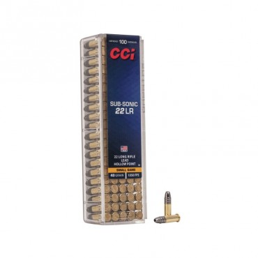 22lr Subsonic - Hollow Point - CCI