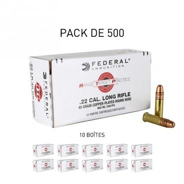 Range Target Practice - ECO BOX 500 - 22lr - FEDERAL
