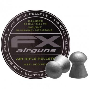Plombs 5.5 FX / 1.175 g Boite de 500 pcs