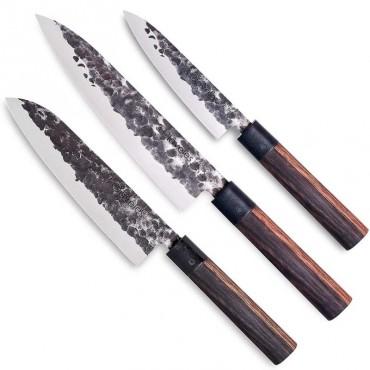 Set of 3 Kitchen's Knives Osaka - 3 Claveles