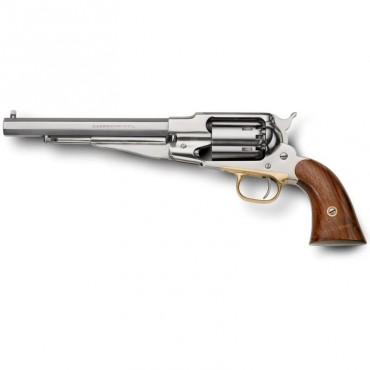 Remington 1858 Inox brosé - Revolver Poudre Noire Cal. 44 - Pietta