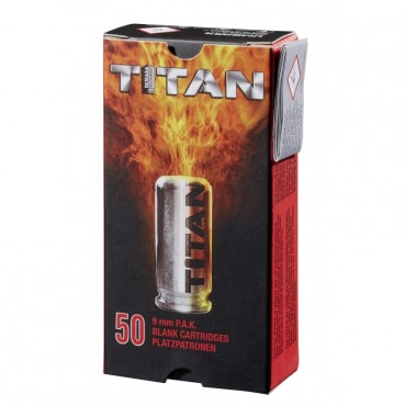 TITAN Blank Cartridge - 9mm PAK - UMAREX