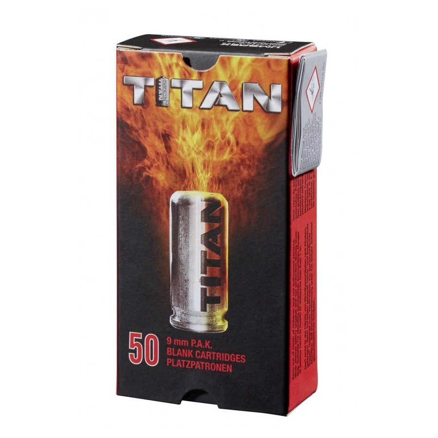 TITAN Blank Cartridge - 9mm PAK - UMAREX