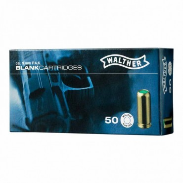 Blank Cartridge - 9mm PAK - Walther