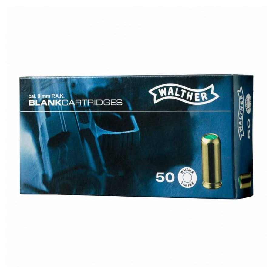 Munition à Blanc - 9mm PAK - Walther