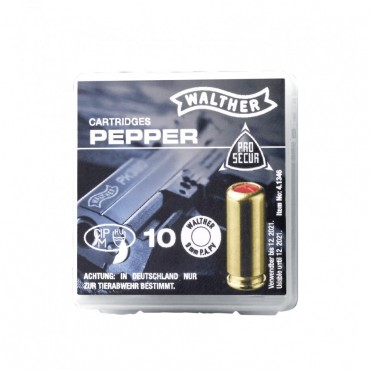 Pepper Cartridge - 9mm PAK - Walther