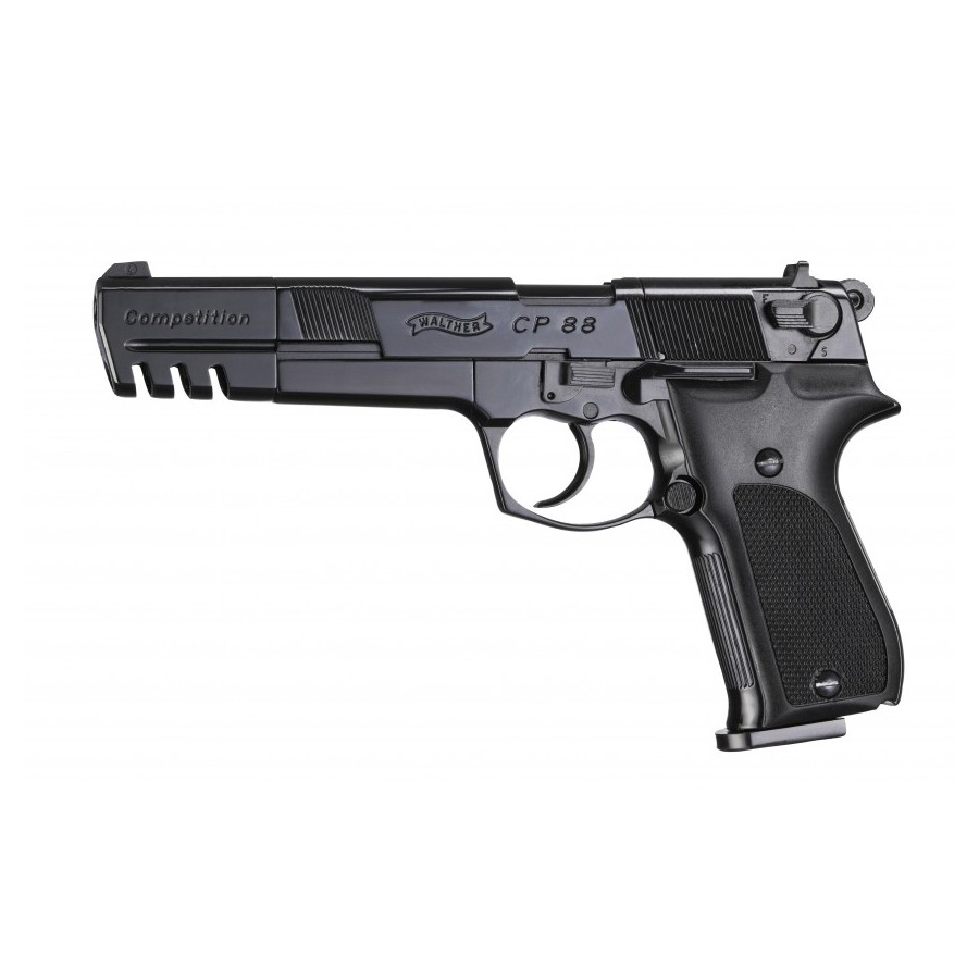 Walther CP88 Competition Black - co2 .177 Pellets - UMAREX