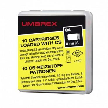 Munition à gaz poivre CS - 8mm PAK - UMAREX