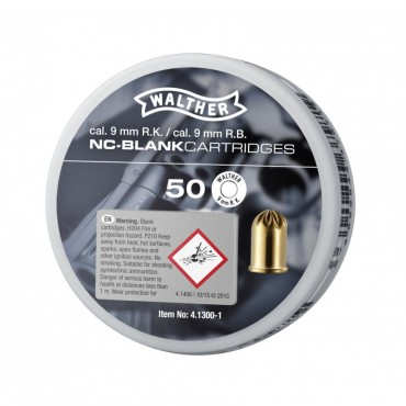 Blank Cartridge - 9mm RK - Walther