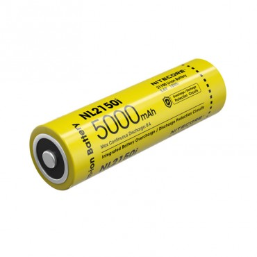 Rechargeable Battery - 5000mAh - NL2150i - Nitecore