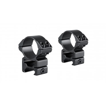 Colliers-2pc-30mm-Picatinny-haut-Hawke