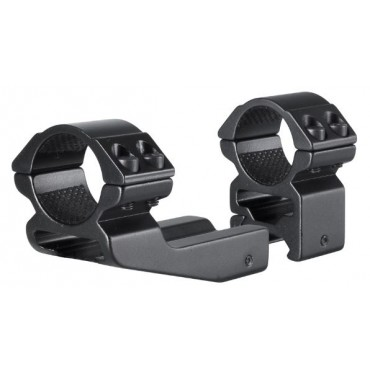 Colliers-2pc-1 inch (25,4mm)-Picatinny-haut-décalés-Hawke