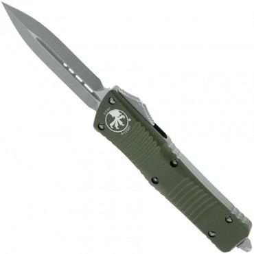 Combat Troodon D/E OD Green Apocalyptic Standard - Microtech
