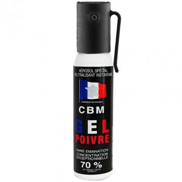 Bombe de Défense 25 ml Gel Poivre