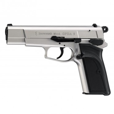 Browning GPDA Nickel - Blank Pistol - 9mm PAK - Umarex
