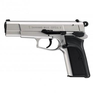 Browning GPDA Nickelé - Pistolet Alarme - 9mm PAK - Umarex