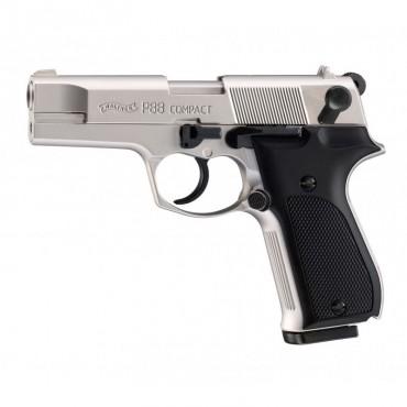 Walther P88 Nickelé - Pistolet Alarme - 9mm PAK - Umarex