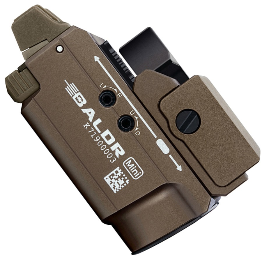 BALDR Mini Desert - Lampe / Laser pour Arme - Olight