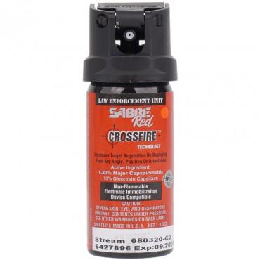 MK-2 Stream (Gel) CrossFire - Spray au Poivre - Sabre Red