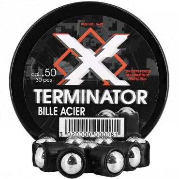 X-Terminator - Bille Acier Cal .50 pour HDR Umarex