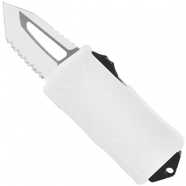 Exocet T/E Stormtrooper White Full Serrated - Microtech